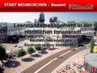 Leerstandsmanagement in der nördlichen Innenstadt - Forum Bremen