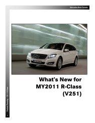 2011 R-Class Technical Data - Daimler