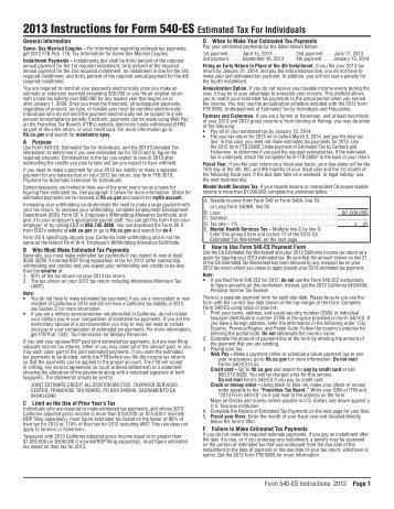 Form 540 Es Ottodeemperor