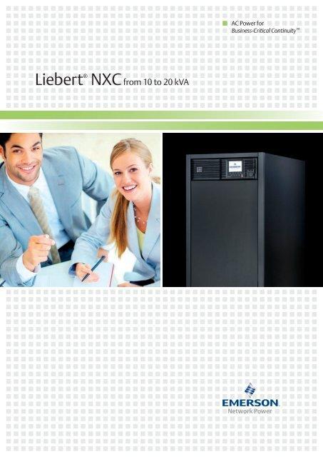 Liebert® NXC From 10-20 kVA - FIRSTPOWER