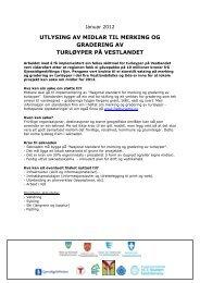 Utlysing av midlar 2012.pdf - Fjord Norway