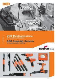 DGD-Montagesysteme DGD Assembly Systems