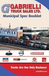 Municipal Spec Booklet - Gabrielli Truck Sales, Ltd.