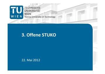 3. Offene STUKO