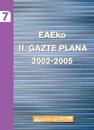 II Gazte Plana 2002-2005 - Gazteaukera - Euskadi.net