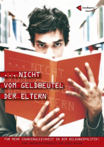 Mach mit! Mach's besser: Gemeinsam - Jusos Bayern