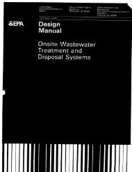 On-Site Wastewater Treatment and Disposal Systems - Forced ...