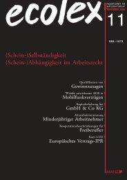 Artikel als PDF-Datei - Franz Hörmann