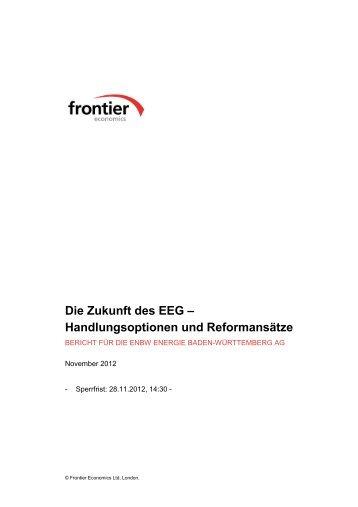 EEG - Frontier Economics