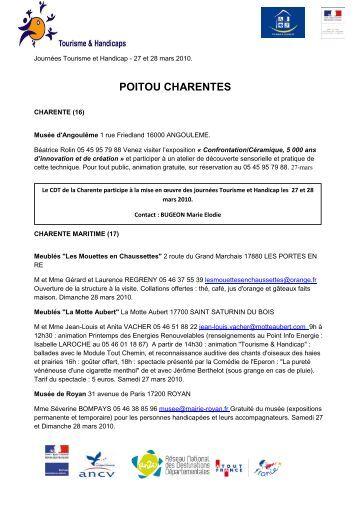 Poitou charentes vend e le souvenir napol onien - Chambre agriculture poitou charentes ...