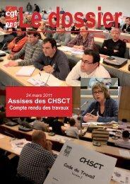 Compte rendu AG CHSCT 2011 - Féderation - La cgt