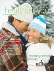 Healthier You - Faith Regional Health Services