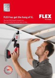 Drywall screwdriver - FLEX