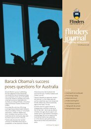 Barack Obama's success poses questions for Australia - Flinders ...