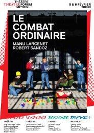 LE COMBAT ORDINAIRE - Forum-Meyrin