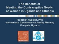 Ethiopia - International Conference on Family Planning