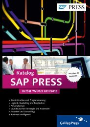 SAP PRESS - Galileo Press