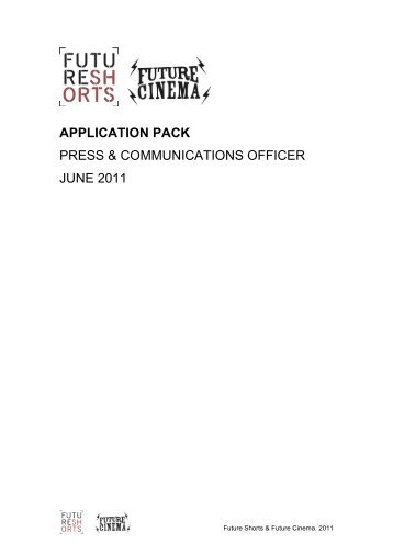 FS Press and Communications Officer Application Pack