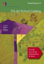 FIA Art School Catalog - the Flint Institute of Arts