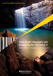 How asset managers are preparing for Solvency II