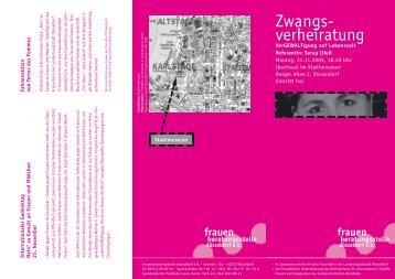 Zwang RZ - Frauenberatungsstelle Düsseldorf