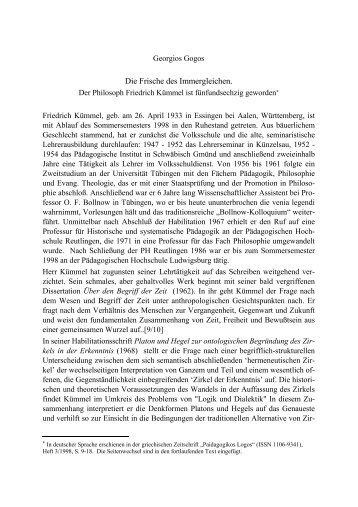 Wuerdigung.pdf (47 kB) - Friedrich Kümmel