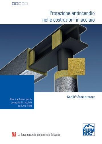 Protezione antincendio nelle costruzioni in acciaio - Flumroc