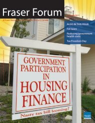 Fraser Forum - July/August 2011 - Government Participation in ...