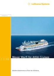 Meyer Werft für AIDA Cruises