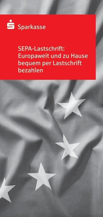 SEPA-Lastschrift kompakt - Berliner Sparkasse