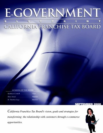 Government Blueprint - California Franchise Tax Board - State of ...