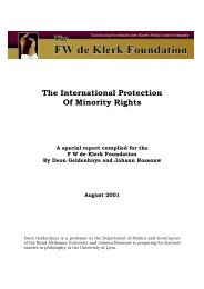 The International Protection Of Minority Rights - Nigerian Law Guru