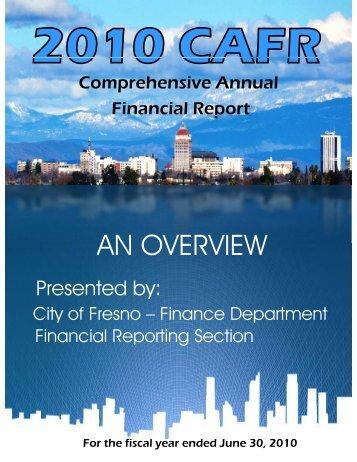 2010 Council Presentation - City of Fresno