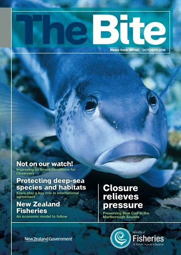 Download The Bite October 2008 - Ministry of Fisheries