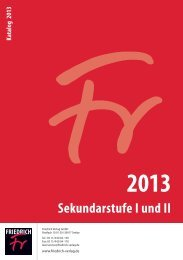 Unterricht - Friedrich Verlag
