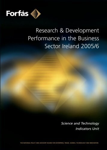 Research and Development Performance in the Business ... - Forfás