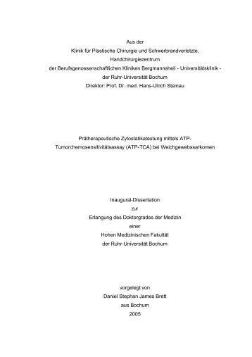 ATP-TCA - Ruhr-Universität Bochum