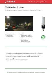 Aura SSC Outdoor Eco Lösung - Aura Light