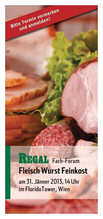 Fleisch Wurst Feinkost - Regal