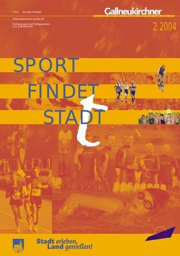 FINDET STADT SPORT - Gallneukirchen