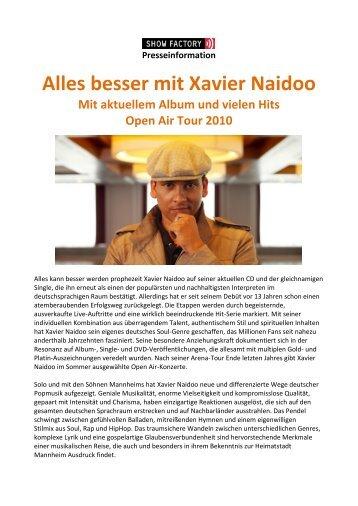 Alles besser mit Xavier Naidoo