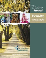 2012-13 Fall-Winter Program Guide - Freeport Park District