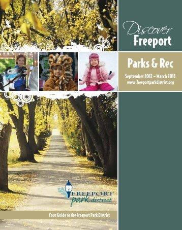 2012-13 Fall-Winter Program Guide - Freeport Park District