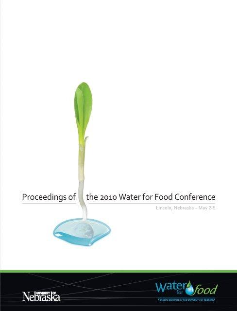 Full Version - Water for Food Institute - University of Nebraska
