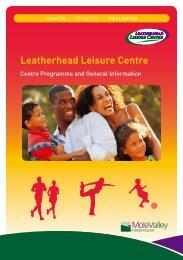 Leatherhead Leisure Centre - Fusion Lifestyle