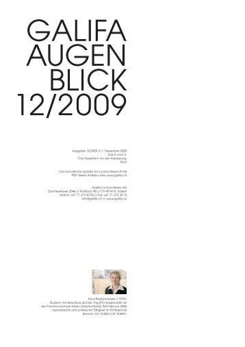 12_Dezember 2009.pdf - Galifa Contactlinsen AG