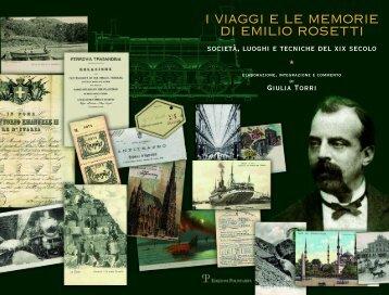 i viaggi e le memorie di emilio rosetti - Fondazione Emilio Rosetti