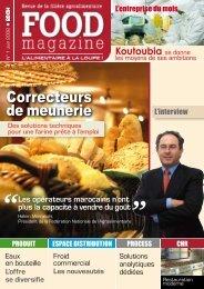 Correcteurs de meunerie - FOOD MAGAZINE