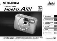 FinePix A101 Manual - Fujifilm USA