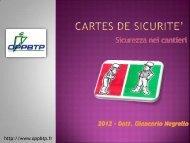 CARTES DE SICURITE' - Formazione e Sicurezza